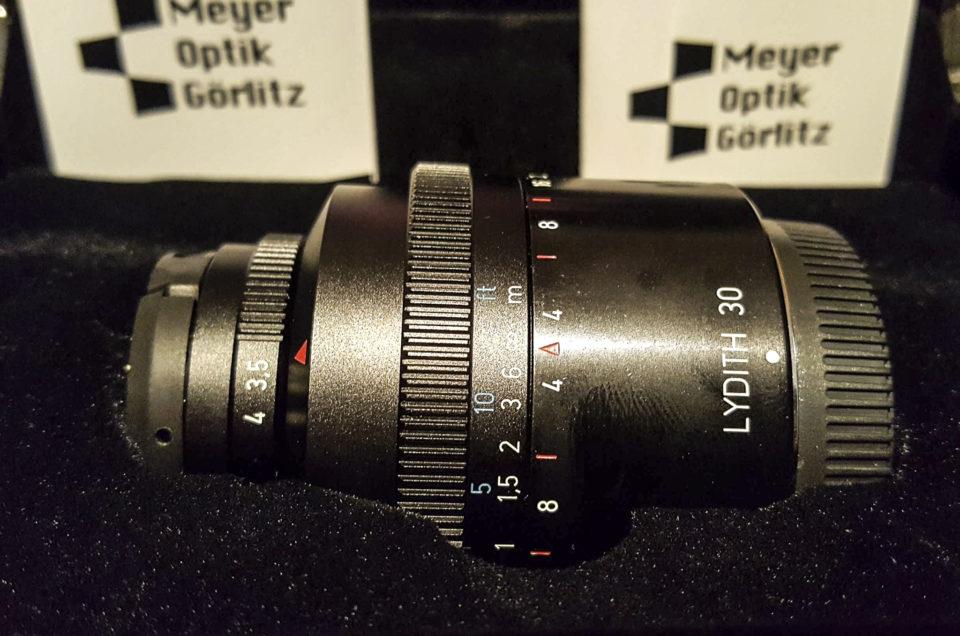 Lydith 30 f3.5 – Auch das zweite Meyer Optik Görlitz Objektiv ist endlich angekommen
