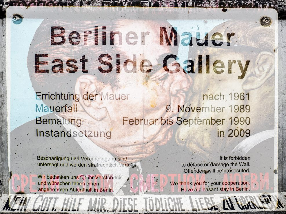 Berlin – Photo Tour 2018 (East Side Gallery)