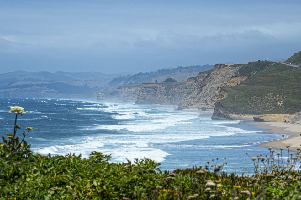 Beautiful beaches along the California State Route 1