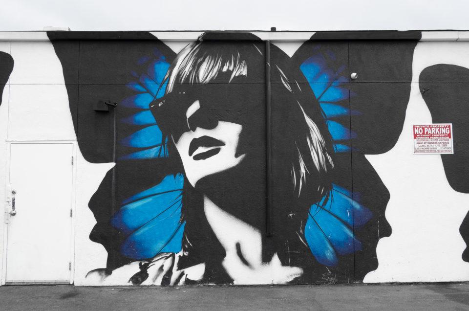 Street Art @ Los Angeles Melrose Avenue