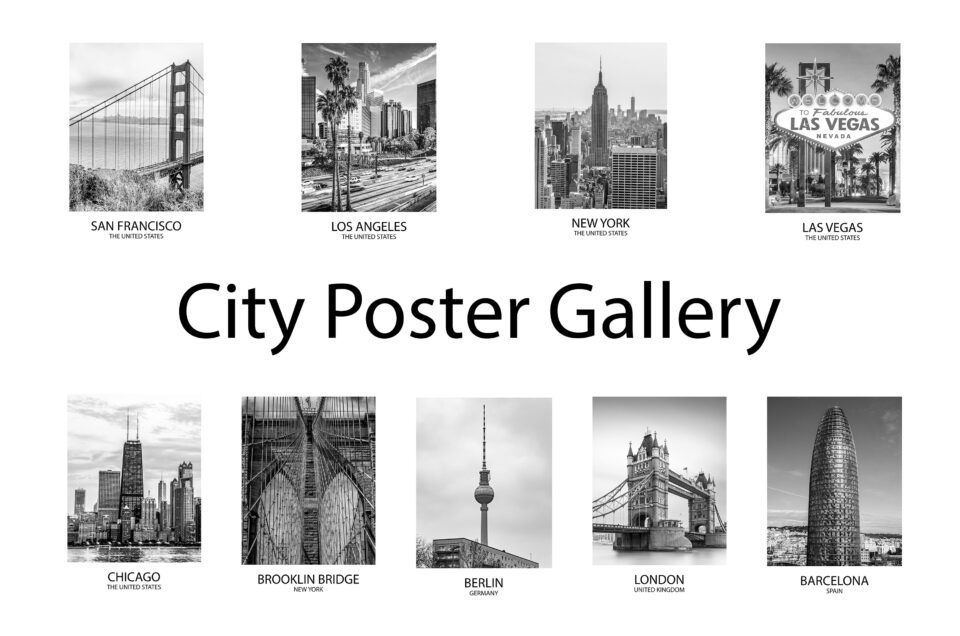 The new city poster gallery